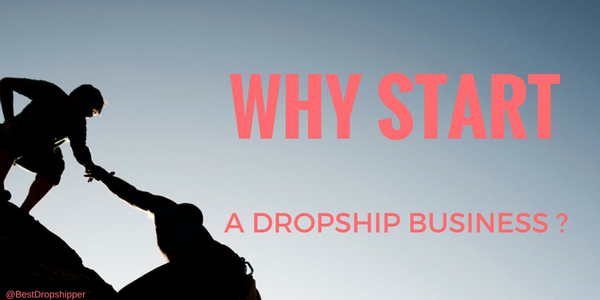 Why start a dropship business
